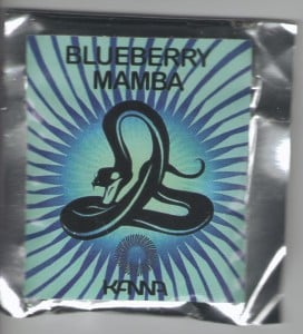 Synthetic weed called blueberry mamba