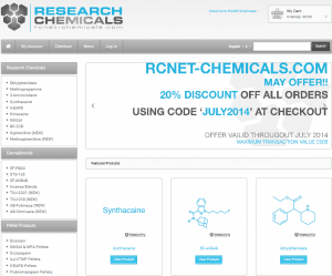 RCNET Chemicals website