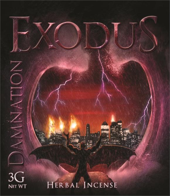 exodus damnation, synthetic cannabinoid legal high which is popular in the UK.